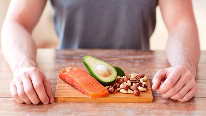 Правильный рацион питания для набора мышечной массы